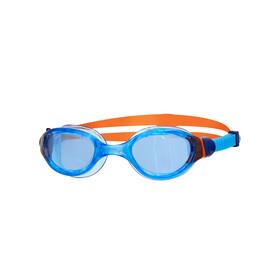 Zoggs Phantom 2.0 Goggles Kids, blu/arancione